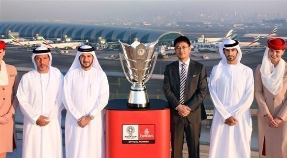کاپ قهرمانی آسیا وارد امارات شد (+عکس)
