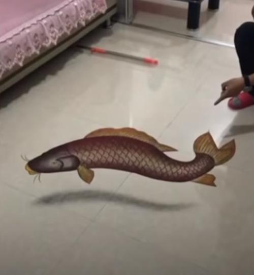 نقاشی های 3 بعدی مرد چینی با شن و ماسه (+عکس)