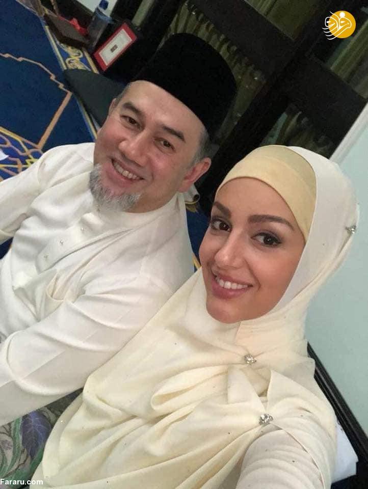 ملکه زیبایی روس مسلمان شد و به عقد پادشاه مالزی درآمد + عکس