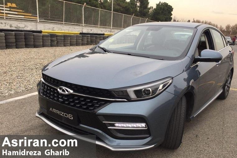 تست و بررسی خودروی جدید چری در ایران / رانندگی با آریزو 6 چگونه است؟ (+عکس)