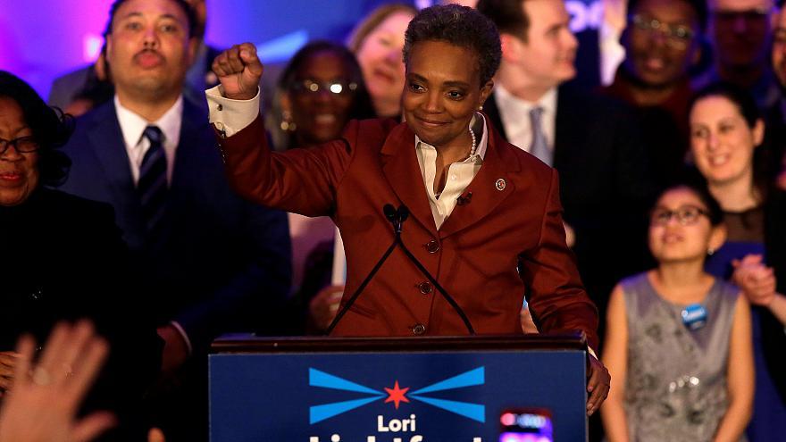 برای نخستین بار یک سیاهپوست شهردار شیکاگو شد