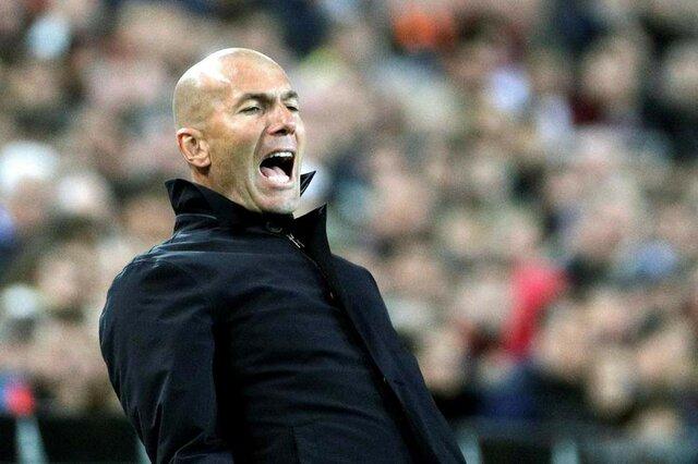 صحبت های زیدان بعد از اولین شکست در بازگشت به مادرید