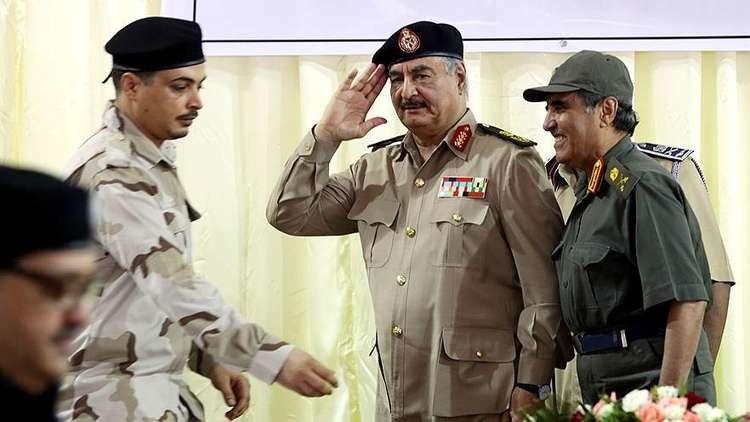 بحران لیبی/ دستور حمله ژنرال ارتش به پایتخت