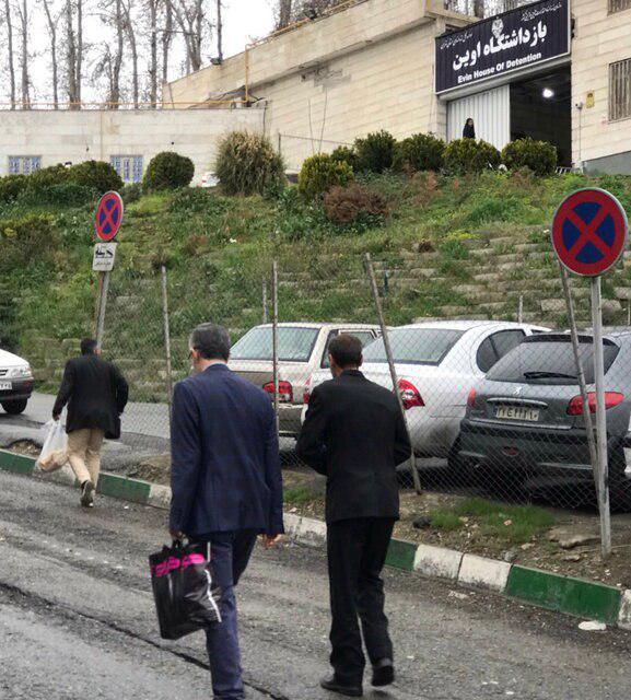 مشایی به زندان بازگشت (+ عکس)