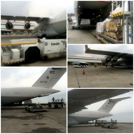ارسال دومین محموله کمکهای کویت برای سیل زدگان ایران/ کمکهای بزرگتر در راه است