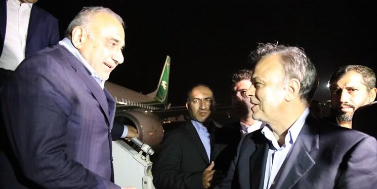 نخستوزیر عراق وارد مشهد شد
