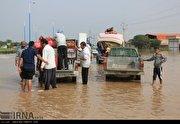تخلیه روستاهای عبدالخان - خوزستان (عکس)