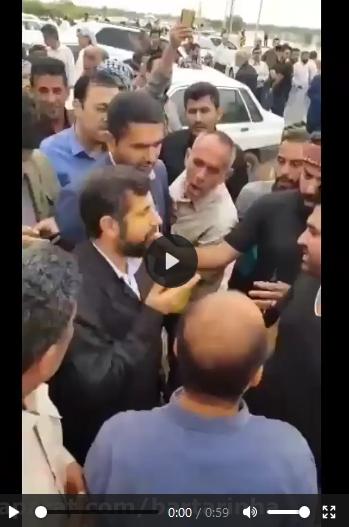 6 نکته درباره خشم استاندار خوزستان از انتقاد مرد سیل زده