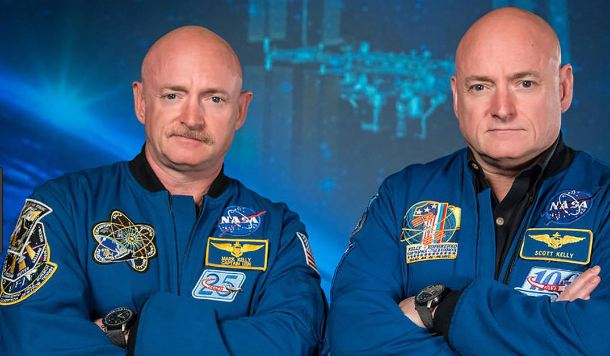 تغییر جالب و باورنکردنی یکی از فضانوردان 2 قلو (+عکس)