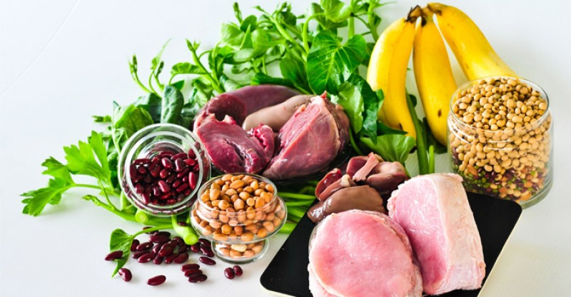 تغذیه برای درمان کم خونی