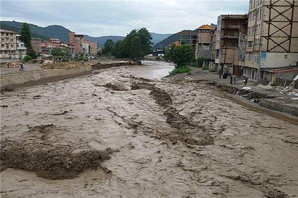 دستور تخلیه منازل مجاور رودخانههای عباس بیک و زین آباد طبس