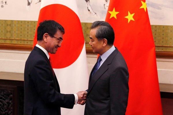 دیدار وزیران خارجه چین و ژاپن