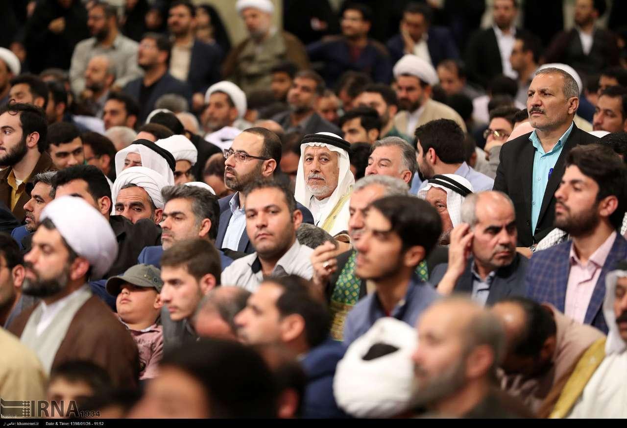 دیدار شرکتکنندگان در مسابقات بینالمللی قرآن با مقام معظم رهبری (عکس)