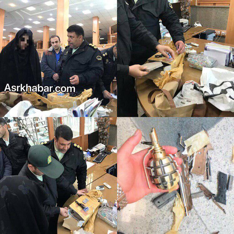 دستگیری عامل تهدید به بمب گذاری یکی از بانک های فرمانیه تهران (+عکس)
