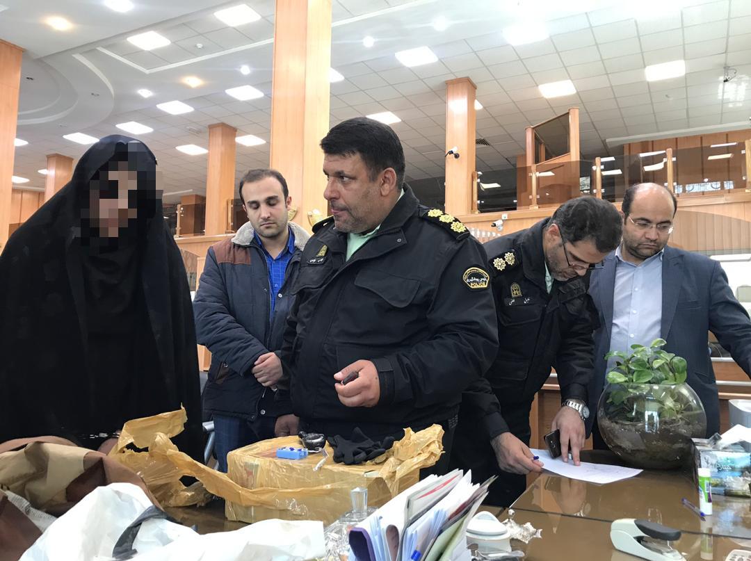 دستگیری عامل تهدید به بمبگذاری در فرمانیه تهران (+عکس)