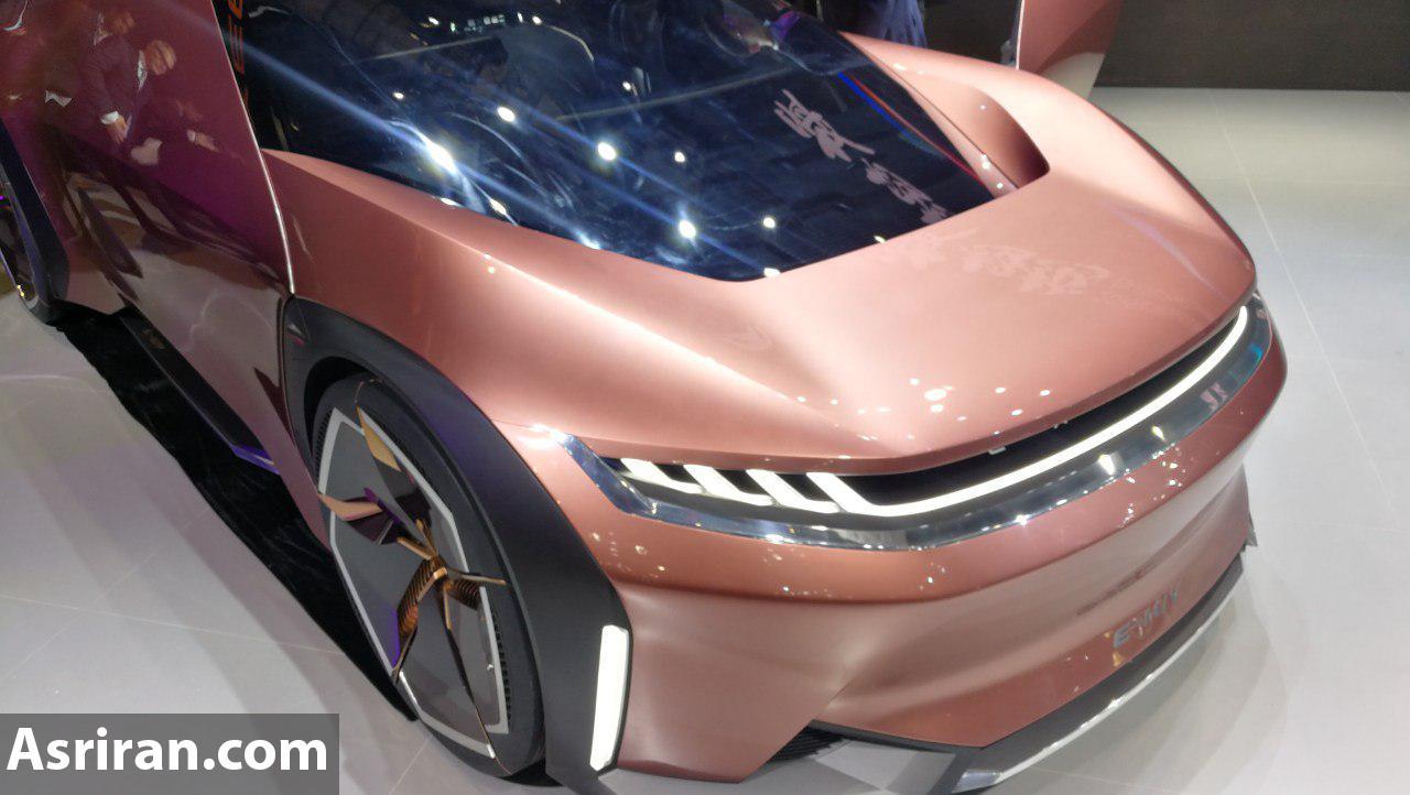 نمایش دومین خودروی جدید چری با برند