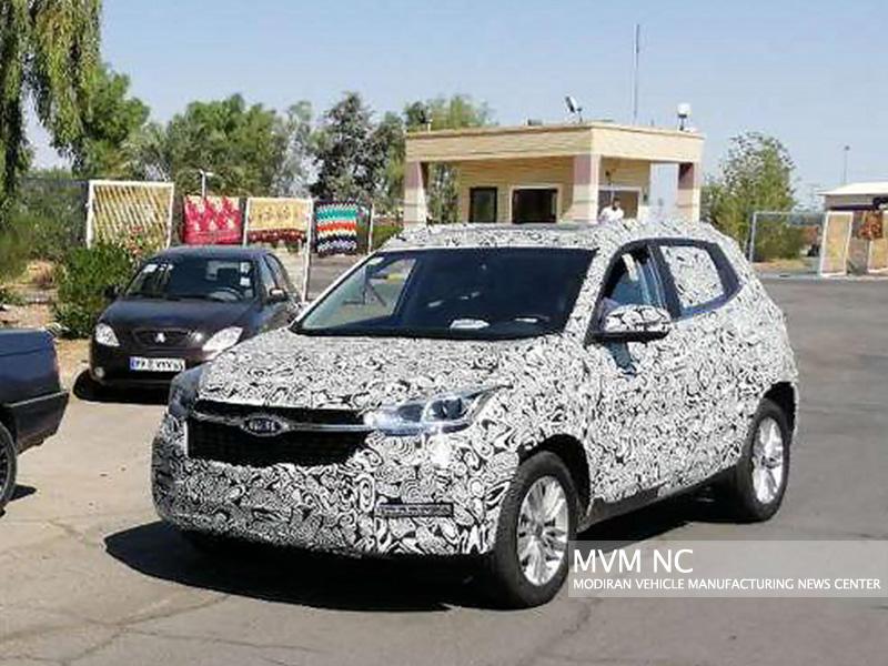 خودروی جدید X55 در نمایشگاه  بین المللی چین / این خودرو به زودی در ایران عرضه می شود (+عکس)
