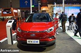 معرفی خودروهای برقی جک در نمایشگاه شانگهای (+عکس)
