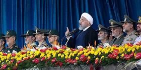 روحانی: ارتش 40 سال در کنار ولایت و مردم است/ توهین به سپاه توهین به نیروهای مسلح و توهین به ملت ایران است