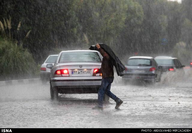 بارشهای رگباری در خراسان رضوی در 72 ساعت آینده