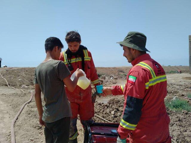 نجات 4 فرد گرفتار در 4 عملیات آتشنشانان