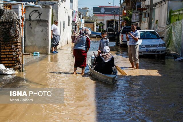 برقراری امنیت و توزیع سریع اقلام امدادی و غذایی در مناطق سیلزده