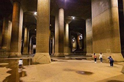 ژاپن و سازه ضد سیل که مجسمه آزادی و شاتل فضایی در آن جا می شود! (+فیلم و عکس)