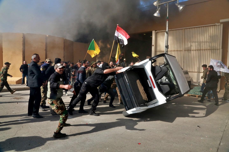 جمله به سفارت آمریکا در بغداد