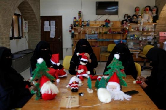 زنان مسلمان و هدیه کریسمس