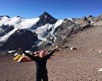 کوهنورد 60 ساله ایرانی در بلندترین قلههای جهان (فیلم)
