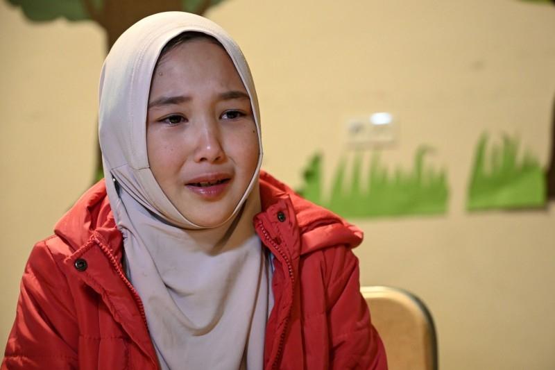 دختر اویغور در ترکیه