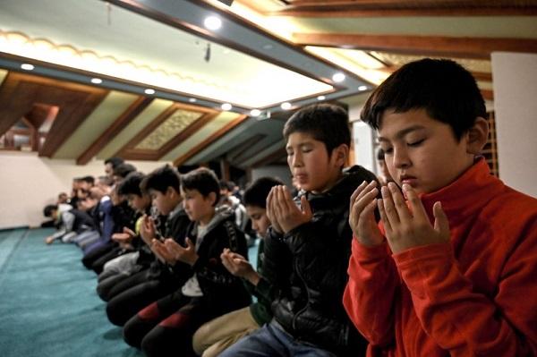 کودکان اویغور در استانبول