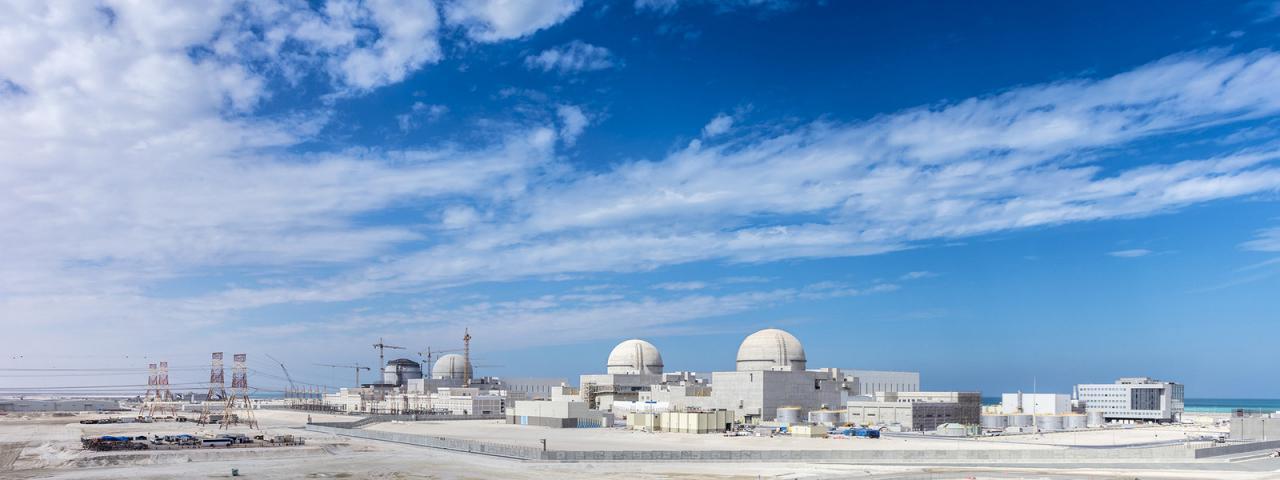 راه اندازی اولین نیروگاه اتمی امارات تا آخر 98
