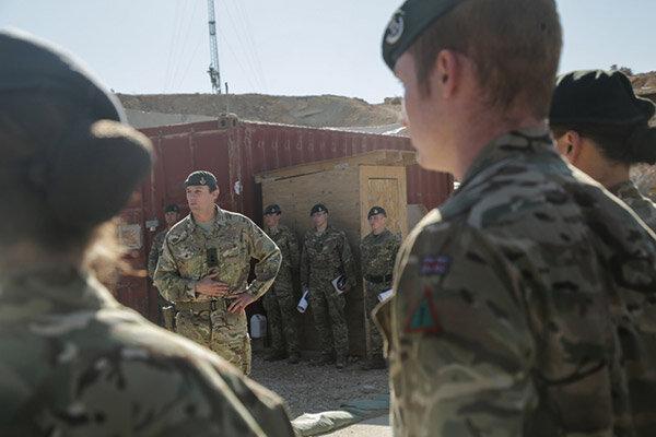 افزایش سطح تدابیر امنیتی و آمادهباش در پایگاههای نظامی انگلیس در خاورمیانه