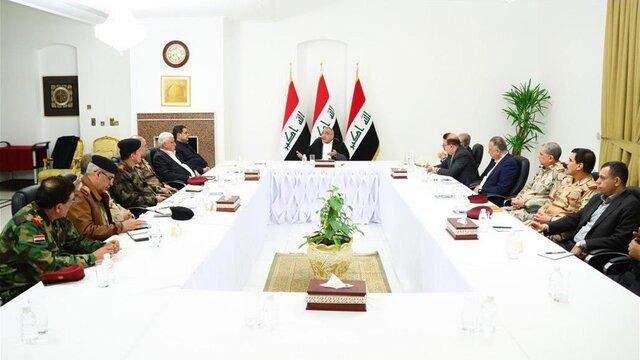 نشست شورای امنیت ملی عراق برای اتخاذ تدابیری در حفاظت از حاکمیت عراق