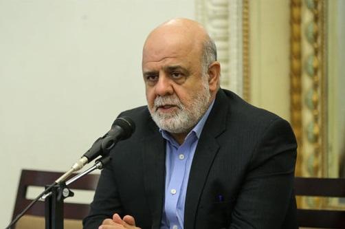 سفیر ایران در عراق: پیکر سردار سلیمانی و همرزمانش پس از تشییع در کاظمین به بغداد منتقل میشود