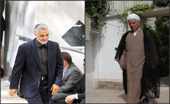 هاشمی رفسنجانی و قاسم سلیمانی