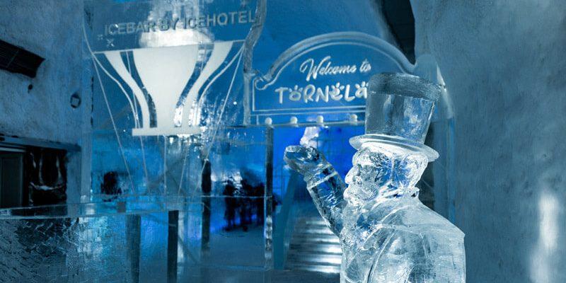 اولین هتل یخی دنیا