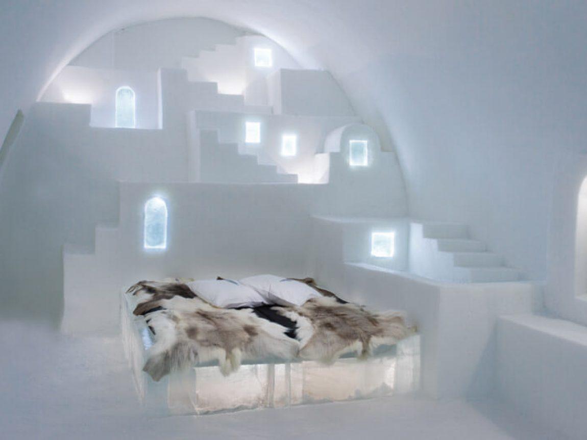 کلبه یخی اسکیموها