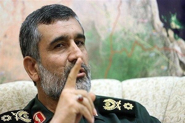 فرمانده نیروی هوافضای سپاه: انتقام شهید سلیمانی حتی با کشتن ترامپ هم پایان نمیپذیرد