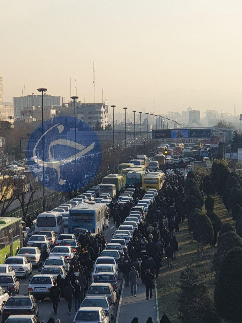 آغاز مراسم تشییع سردار سلیمانی در تهران
