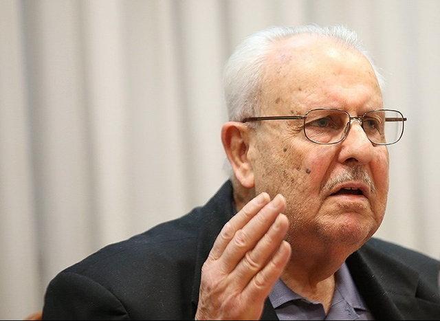 حضور سفیر فلسطین در مراسم تشییع پیکر سردار سلیمانی