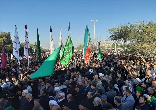 آغاز مراسم تشییع پیکر مطهر شهید ابومهدی در آبادان
