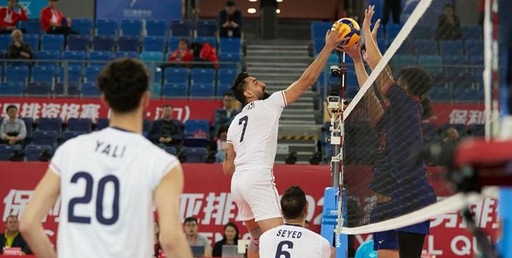 والیبال انتخابی المپیک