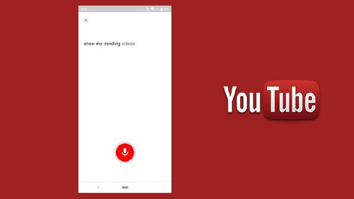 جستوجوی صوتی در یوتیوب