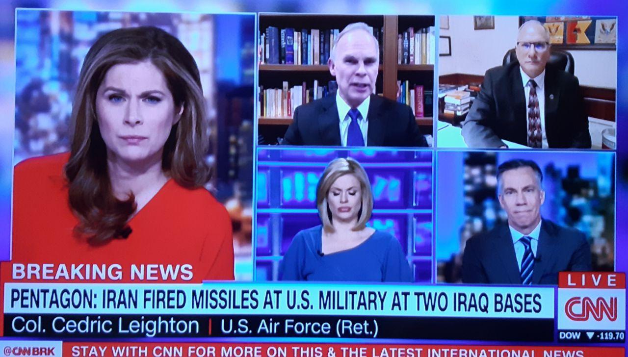 «انتقام سخت» به وقوع پیوست/ حمله موشکی سپاه به پایگاه آمریکایی (عکس + فیلم)