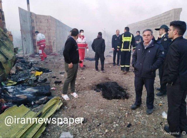 اغلب مسافران بوئینگ 737 تهران-کیف ایرانی بودند