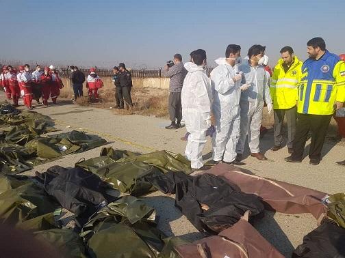 جان باختن تعدادی از دانشجویان پزشکی ایرانی در هواپیمای اوکراینی