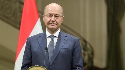 رئیسجمهور عراق حملات ایران به پایگاههای آمریکا در عراق را محکوم کرد