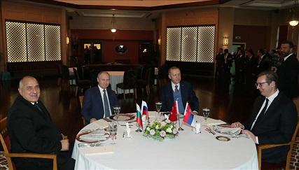ضیافت شام اردوغان برای پوتین در استانبول
